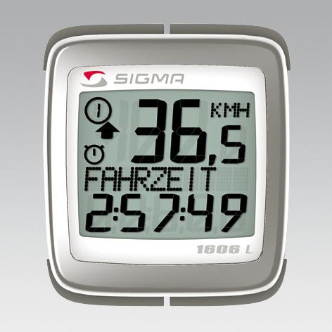 Sigma Sport Fahrradcomputer BC-1606