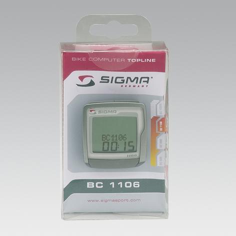 Sigma Sport Fahrradcomputer BC-1106