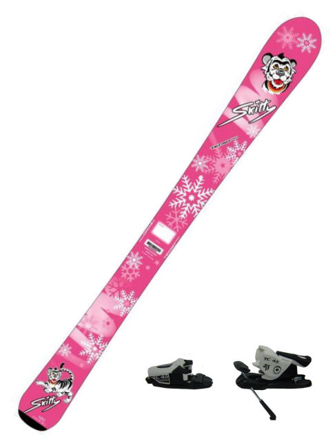 Tecno Pro Kinder Alpin Ski-Set Skitty + TC 45 Bindung