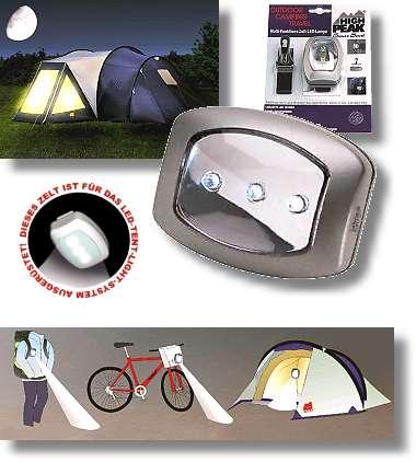 McKinley Zeltbeleuchtung LED Tent Light