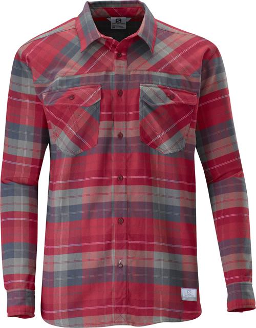 Salomon Mountain Flanell Shirt Men