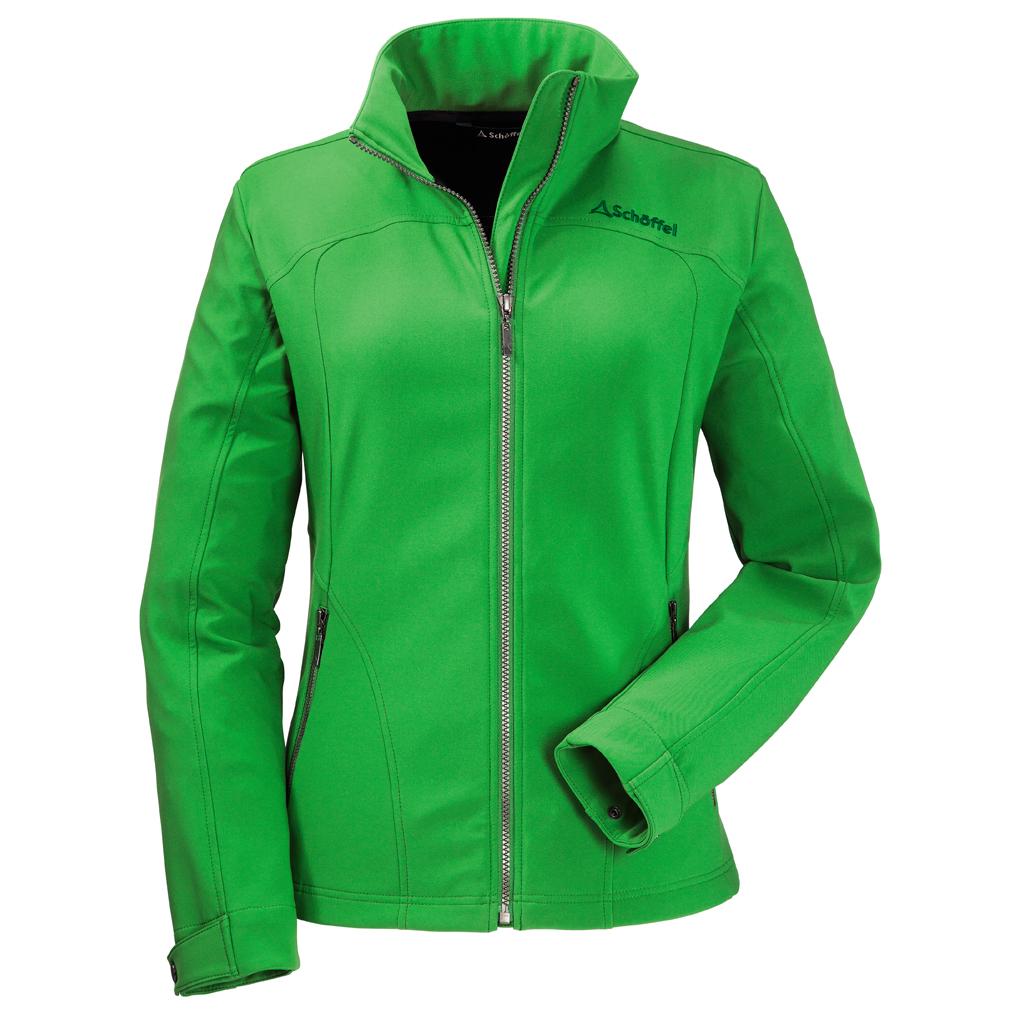 sschöffel angi softshell jacke grün damen